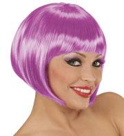 perruque violette, perruque lilas, perruque carré femme, perruque femme Perruque Chanel, Violette, Lilas
