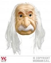 masque albert Einstein, masque de déguisement, accessoire déguisement masque, masque déguisement scientifique, masque déguisement célébrité Masque Albert le Savant