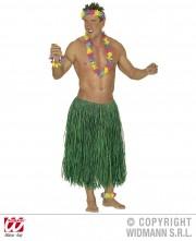 jupe hawaï, jupe hawaïenne Jupe Hawaïenne 78 cm, Raphia Vert