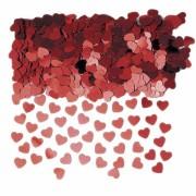 confettis de table,confettis coeurs rouges, décorations de table, décorations saint valentin, coeurs rouges confettis Confettis de Table, Coeurs Rouges
