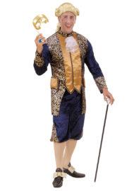 déguisement vénitien, costume vénitien, déguisement carnaval de venise, déguisement de marquis, costume de marquis déguisement, déguisement marquis adulte, déguisement marquis homme, déguisement baroque homme Déguisement de Marquis, Bleu et Or