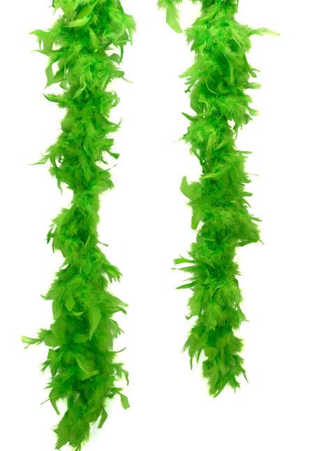 boa plumes, boa plumes vertes, boa vert, accessoire années 20, accessoire années 30, Boa en Plumes Vertes, Anis
