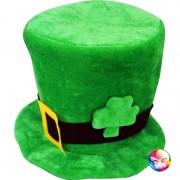 chapeau saint patrick, chapeaux haut de forme, accessoires déguisement saint patrick, chapeaux irlandais Chapeau Saint Patrick, Velours
