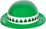 chapeaux saint patrick, chapeaux melons, chapeaux pas cher, chapeau melon, irlandais, saint patrick, trèfles Chapeau Saint Patrick, Plastique Trèfles
