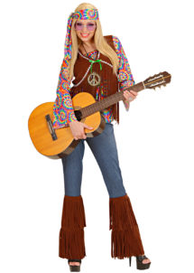 déguisement hippie femme, costume hippie femme, déguisement flower power femme, Déguisement Hippie Psychédélique, 70s