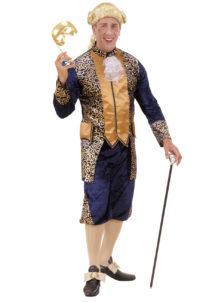 déguisement vénitien, costume vénitien, déguisement carnaval de venise, déguisement de marquis, costume de marquis déguisement, déguisement marquis adulte, déguisement marquis homme, déguisement baroque homme, Déguisement de Marquis, Bleu et Or