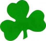 trèfle en carton, déco saint patrick Déco Trèfle Saint Patrick