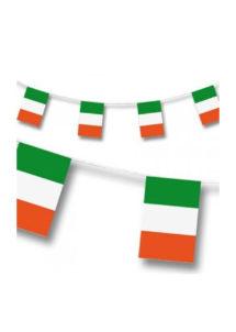 guirlande drapeaux irlandais, drapeaux des pays, drapeaux irlandais, drapeaux de l'Irlande, guirlande saint patrick, Guirlande Drapeaux, Irlande
