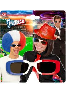 lunettes france, lunettes drapeau français, lunettes supporter france, Lunettes Drapeau France