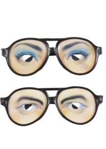 lunettes de déguisement, lunettes de fêtes, lunettes soirée déguisée, accessoires lunettes,lunettes fantaisie, lunettes pas chères, lunettes faux yeux, Lunettes Funny Faux Yeux