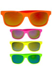 lunettes fluos, lunettes couleurs fluos, lunettes années 80, Lunettes Couleurs Fluos, Miroirs
