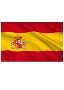 drapeaux Espagne, drapeaux des pays, drapeaux de l'euro 2016, boutique supporter, supporter euro 2021, drapeaux de l'euro 2021, boutique supporter, Drapeau de l'Espagne, 90 x 150 cm