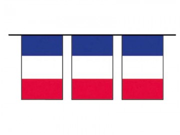 guirlande drapeaux français, guirlandes drapeaux france, décorations france, décorations euro 2016, drapeaux, drapeaux des pays, boutique supporter Guirlande Drapeaux, France