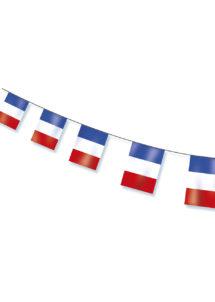 guirlande drapeaux français, guirlandes drapeaux france, décorations france, décorations euro 2016, drapeaux, drapeaux des pays, boutique supporter, Guirlande Drapeaux, France