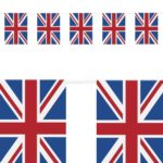 guirlande fanions drapeaux anglais, guirlande drapeau de grande bretagne Guirlande Drapeaux, Royaume Uni