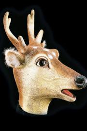 masque de cerf, masque animal, masques animaux, masque animal forêt, masque de biche Masque de Cerf, Latex