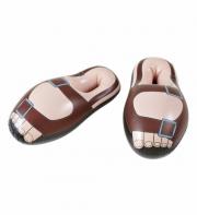 sandales gonflables, accessoire moine déguisement, accessoire déguisement de moine, accessoire déguisement humour Sandales Gonflables