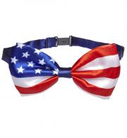 noeud papillon usa, états unis, noeud papillon américain, noeud papillon déguisement, accessoire déguisement, noeud papillon drapeau américain Noeud Papillon Drapeau Américain