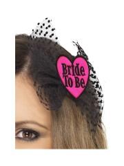 barrette bride to be, accessoire enterrement vie de jeune fille, accessoire déguisement, accessoire EVJF déguisement, accessoire enterrement de vie de célibataire Barrette Future Mariée, Bride to Be