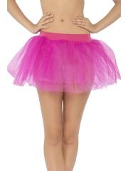 tutu de danseuse, déguisement tutu, accessoire déguisement tutu, accessoire tutu déguisement, tutu rose fuchsia, tutu rose fuchsia déguisement Tutu en Tulle et Résille, Rose Fuchsia