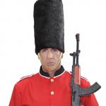 chapeau garde royale anglaise, chapeaux anglais, chapeaux paris, accessoires déguisements anglais, chapeaux garde royale Chapeau Garde Royale Anglaise