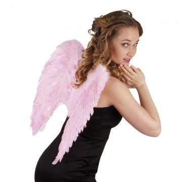 ailes de déguisement, ailes pour se déguiser, ailes d'anges roses, ailes d'ange rose, ailes en plumes, ailes roses Ailes d'Ange, Roses