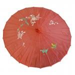 ombrelle chinoise, ombrelle japonaise Ombrelle Japonaise en Tissu, Rouge