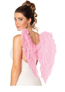 ailes de déguisement, ailes pour se déguiser, ailes d'anges roses, ailes d'ange rose, ailes en plumes, ailes roses, Ailes d'Ange, Roses