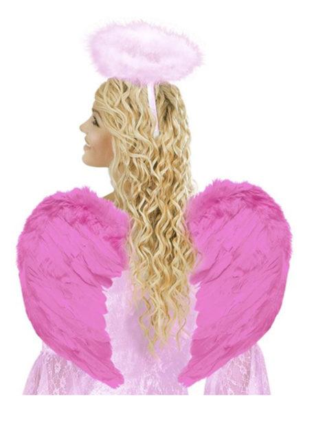 ailes de déguisement, ailes pour se déguiser, ailes d'anges roses, ailes d'ange rose, ailes en plumes, ailes roses, Ailes d'Ange Roses, Fuchsia