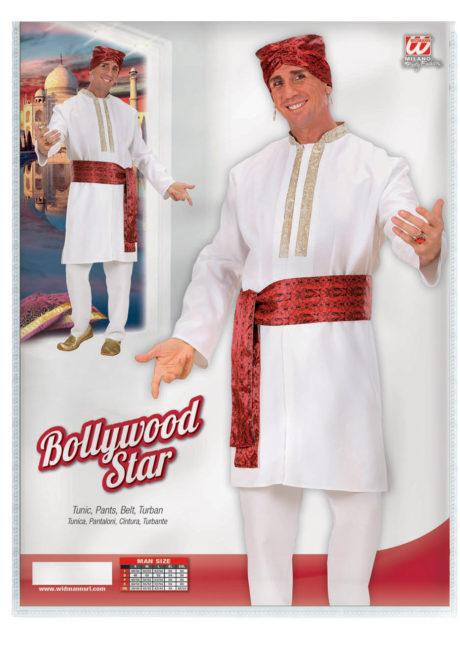 déguisement bollywood homme, costume bollywood, costume oriental homme, déguisement oriental homme, déguisement hindou, Déguisement Bollywood Star