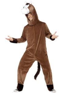 déguisement de cheval, costume cheval adulte, costume cheval homme, déguisement cheval homme, déguisement d'animal homme, déguisement d'animal, costume d'animal, Déguisement de Cheval, Combinaison + Coiffe