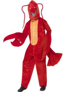 déguisement de homard, déguisement animal adulte, déguisement poisson adulte, déguisements animaux homme, déguisement de crevette, costume de poisson adulte, déguisement de homard, Déguisement de Homard, Combinaison + Coiffe