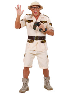 déguisement safari homme, costume safari homme, déguisement homme explorateur, déguisement explorateur homme, Déguisement Safari Man