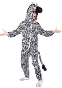 déguisement de zèbre, déguisement zèbre adulte, costume zèbre homme, déguisement animal homme, déguisement animal adulte, déguisement savane, Déguisement de Zèbre, Combinaison + Coiffe