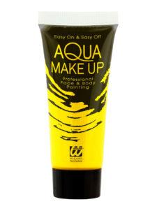 maquillage fluo, peinture fluo jaune, peinture pour le corps fluo, Peinture Jaune Intense, Fluo, Corps et Visage