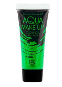 maquillage fluo, peinture fluo vert, peinture pour le corps fluo, Peinture Vert Intense, Fluo, Corps et Visage