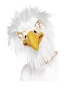 masque d'aigle, masque de déguisement, masque animaux, accessoire déguisement animaux, masque d'animal déguisement, masques d'animaux, Masque d'Aigle, Latex