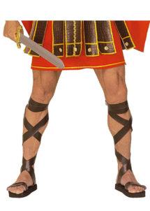 sandales romaines, sandales de gladiateur, accessoire romain déguisement, accessoire déguisement de romain, accessoire déguisement gladiateur, accessoire gladiateur déguisement, sandales romaines de gladiateur déguisement, Sandales Romaines en Simili Cuir