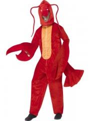 déguisement de homard, déguisement animal adulte, déguisement poisson adulte, déguisements animaux homme, déguisement de crevette, costume de poisson adulte, déguisement de homard Déguisement de Homard, Combinaison + Coiffe