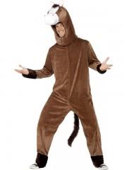 déguisement de cheval, costume cheval adulte, costume cheval homme, déguisement cheval homme, déguisement d'animal homme, déguisement d'animal, costume d'animal Déguisement de Cheval, Combinaison + Coiffe