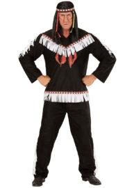 déguisement d'indien homme, costume d'indien adulte, costume d'indien homme, tunique d'indien déguisement, déguisement indien homme, déguisement indien adulte, déguisement homme Déguisement Indien, Noir et Blanc