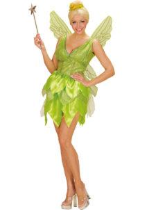 déguisement de fée clochette, costume de fée clochette femme, Déguisement de Fée Verte Fantasy
