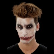 maquillage halloween, fausses blessures halloween, blessures réalistes halloween, maquillage halloween réaliste, blessures halloween réalistes, fausses blessures halloween, effets spéciaux maquillage halloween, blessures cinema secret, maquillage blessure halloween, maquillage du joker halloween, Blessure Cinema Secrets®, FX, Bouche Fendue Joker
