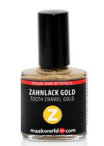 dent en or, vernis à dents en or, maquillage fausse dent en or, effets spéciaux dents en or, FX, Vernis à Dents, Or