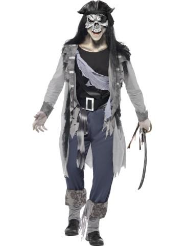 Déguisement de fantome pirate zombie, déguisement zombie halloween, déguisement homme halloween, déguisement halloween homme, déguisement halloween adulte Déguisement Pirate Fantôme Zombie