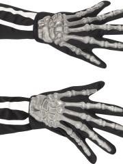 gants squelette, gants squelettes halloween, accessoire halloween, accessoire halloween déguisement, accessoire squelette déguisement Gants de Squelette, Adulte