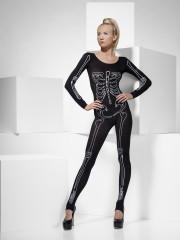 combinaison squelette, déguisement halloween, costume squelette femme, accessoire halloween déguisement femme, déguisement halloween femme, déguisement squelette femme halloween Déguisement Squelette Phosphorescent, Combinaison