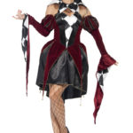 déguisement arlequin femme, costume arlequin, déguisement arlequin halloween, déguisement vénitien arlequin femme, costume arlequine halloween, costume arlequine venise Déguisement Arlequin Gothique, Robe