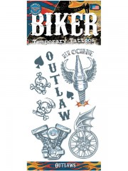 tatouage temporaire, faux tatouage Tatouage Temporaire, Kit pour Biker