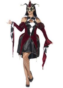 déguisement arlequin femme, costume arlequin, déguisement arlequin halloween, déguisement vénitien arlequin femme, costume arlequine halloween, costume arlequine venise, Déguisement d'Arlequin Gothique, Robe
